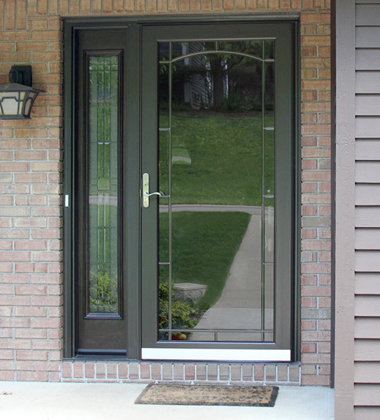 Robust frame with designer glass choices